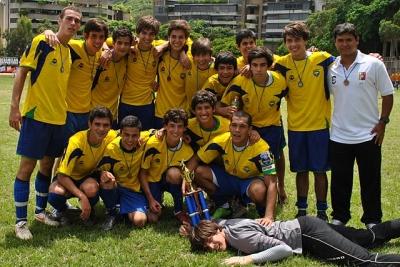 Fútbol campeón Infantil Pre A 2011